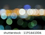 abstract background of colorful ... | Shutterstock . vector #1191661006