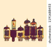 obsolete technology poster.... | Shutterstock .eps vector #1191688453