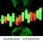 stock market and exchange of... | Shutterstock .eps vector #1191696343