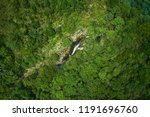 scenic of aerial top view of... | Shutterstock . vector #1191696760