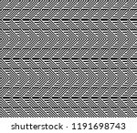 seamless pattern with striped... | Shutterstock .eps vector #1191698743