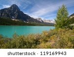 Small photo of Waterfowl Lakes at the Banff National Park in Canada