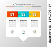 infographic design template.... | Shutterstock .eps vector #1191705469