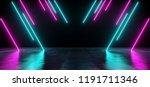 modern futuristic sci fi... | Shutterstock . vector #1191711346