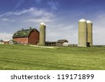 American Country Farm With...