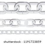 seamless pattern metal silver...   Shutterstock .eps vector #1191723859