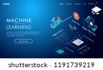 machine learning  ai  data... | Shutterstock .eps vector #1191739219