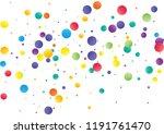 festive color round confetti... | Shutterstock .eps vector #1191761470