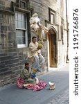 edinburgh  uk   circa august... | Shutterstock . vector #1191766876
