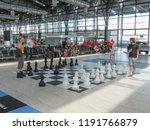 prague  czech republic   circa... | Shutterstock . vector #1191766879