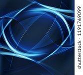 abstract blue dark lines... | Shutterstock . vector #1191769099