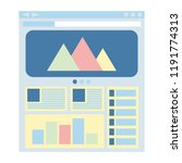 flat website template  web...