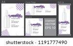 product description advertising ... | Shutterstock .eps vector #1191777490