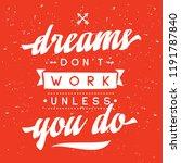 inspirational quote  motivation.... | Shutterstock .eps vector #1191787840