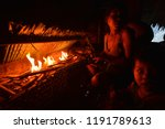 indians of the mentawai tribe ... | Shutterstock . vector #1191789613
