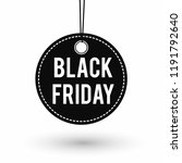 black friday sale banner... | Shutterstock .eps vector #1191792640