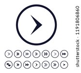 creative direction arrows icons ...
