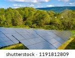 Solar Panels Absorbing The Suns ...