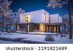 3d rendering of modern cozy... | Shutterstock . vector #1191821689