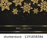 merry christmas and happy new... | Shutterstock .eps vector #1191858586