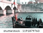 piece of boat equipment   ships ... | Shutterstock . vector #1191879763