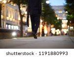 businessman with briefcase... | Shutterstock . vector #1191880993