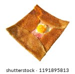 crepe complet isolated on white ... | Shutterstock . vector #1191895813