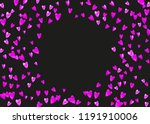 bridal background with pink... | Shutterstock .eps vector #1191910006