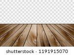 wooden floor texture. vector... | Shutterstock .eps vector #1191915070