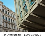 facade of a beautiful old... | Shutterstock . vector #1191924073