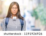 young asian student woman...   Shutterstock . vector #1191926926