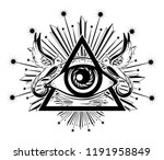 vector hand drawn illustration... | Shutterstock .eps vector #1191958849