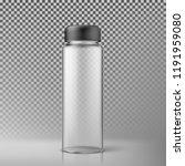 Transparent Water Bottle....