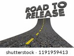 road to release launch product...   Shutterstock . vector #1191959413