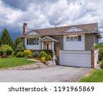 a perfect neighborhood. houses... | Shutterstock . vector #1191965869