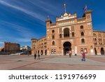 madrid  spain   january 24 ... | Shutterstock . vector #1191976699