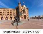 madrid  spain   january 24 ... | Shutterstock . vector #1191976729