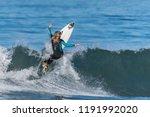 Telented Female Surfer Building ...
