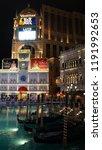 las vegas  nv   oct 28  the... | Shutterstock . vector #1191992653