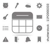 calendar icon. web icons...