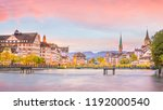 beautiful view of historic city ... | Shutterstock . vector #1192000540