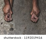 hands for rape and sexual abuse ... | Shutterstock . vector #1192019416