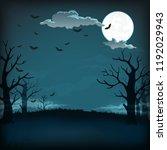 vector background  sign  poster ... | Shutterstock .eps vector #1192029943