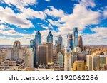 philadelphia  pennsylvania  usa ... | Shutterstock . vector #1192062286