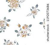 seamless floral pattern....   Shutterstock .eps vector #1192073686