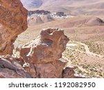 bolivia  salar de uyuni  rock...   Shutterstock . vector #1192082950