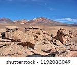 bolivia  salar de uyuni  arbol...   Shutterstock . vector #1192083049