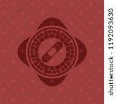 bandage plaster icon inside... | Shutterstock .eps vector #1192093630