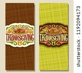 vector greeting cards for... | Shutterstock .eps vector #1192094173
