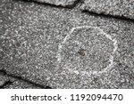 hail damage on roof after... | Shutterstock . vector #1192094470